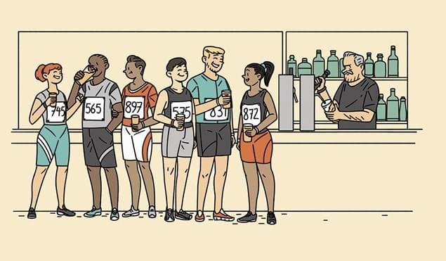 促进跑者恢复的精神疗法:享受自然积极看待