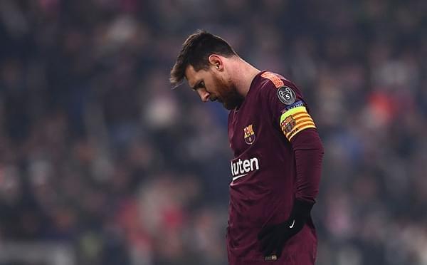 梅西替补拉基蒂奇中柱 巴萨0-0尤文锁头名出线