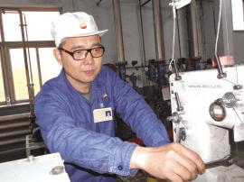 """""""勤俭专家""""王树军 每年为工厂增加效益数十万元"""