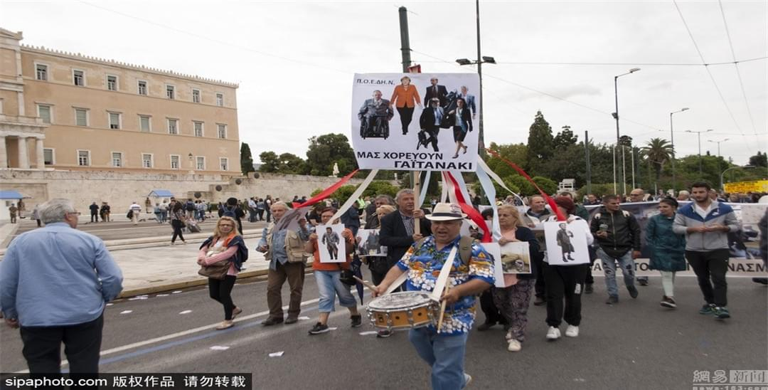 24小时大罢工! 希腊经济再陷衰退危机