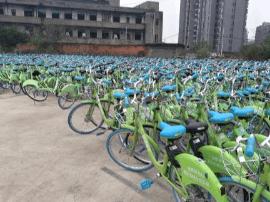 押金难退 南昌街头4.5万辆酷骑单车无人管理