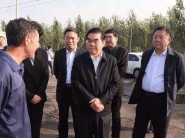 市长到丰南检查大气污染综合治理和安全生产工作
