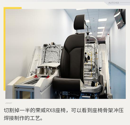 舒适耐用还安全 荣威RX8座椅解析