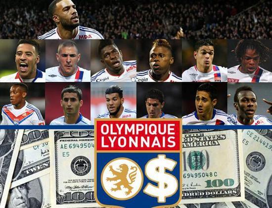 里昂成全欧豪门星工厂 9年出售青训球员狂赚2亿!