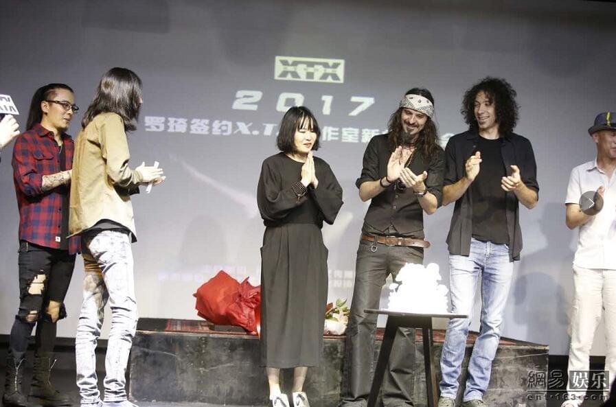 罗琦签约谢天笑工作室 自曝ktv会唱苏芮赵传的歌