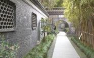假日雨中游乔园 感受传统建筑之美