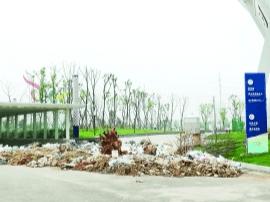 昌南体育中心不对外开放 杂草丛生垃圾成堆