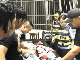 外国展商遗失700万元珠宝玉器 南宁警方2小时找回