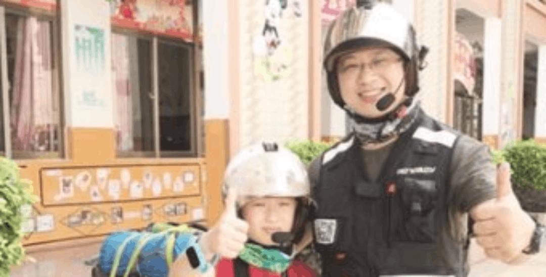 漳浦旅游达人和11岁孩子骑行半个中国