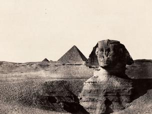 摄影师170年前所拍照片 还原古埃及风貌