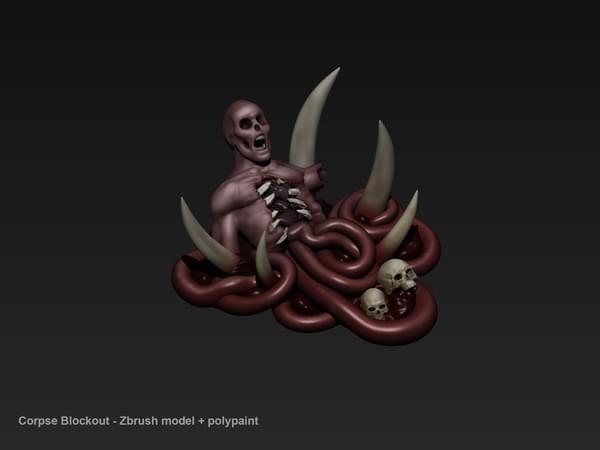 暗黑3死灵法师开发故事(二):尸体资源的制作