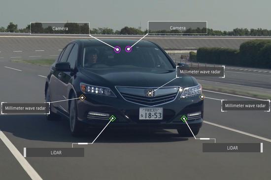 本田预计2025年推无人驾驶汽车 比其他公司晚5年 第1张