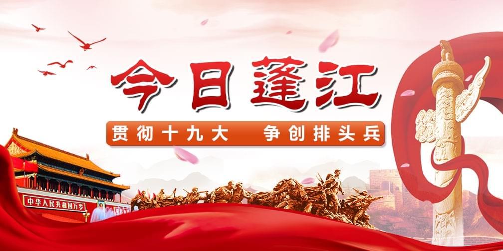 今日蓬江大小事 来看网易政务篇