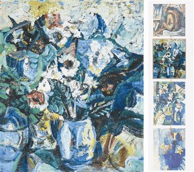 2017西泠秋拍呈现吴大羽五十年代油画作品《瓶花》