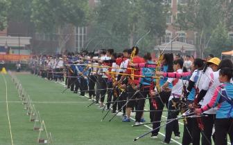 省运会首次增设射箭项目 射箭热身赛圆满结