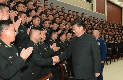 习近平视察第71集团军