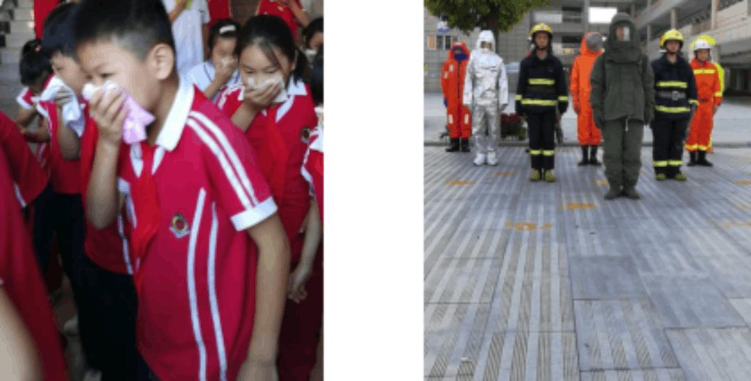 """南阳消防创新思路 上好新学期""""消防第一课"""""""