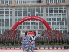 """齐鲁理工学院举办""""喜迎十九大·庆祝建军90周年""""歌咏"""