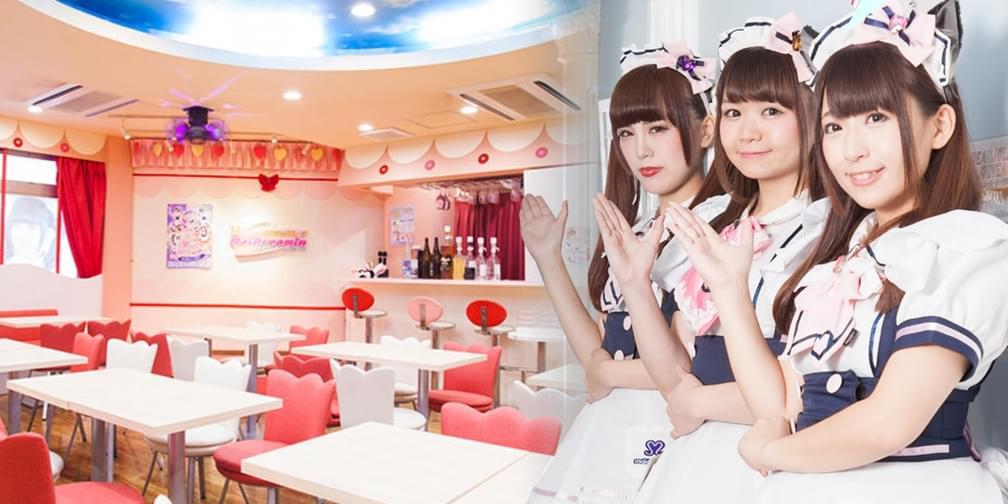 宅男天堂!日本萌妹子带你玩转女仆咖啡!
