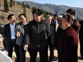 运城政协副主席张学会:推广集雨灌溉促进山区发展