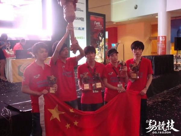 中国DOTA的冠军可能会迟到 但从不会缺席