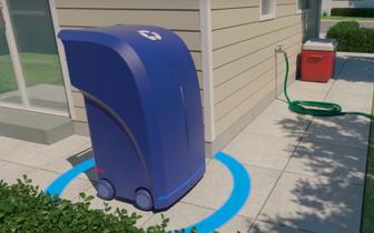 城市清洁卫兵无人驾驶垃圾箱来了:走街串巷定时汇合垃圾车