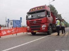 绛县交警:严查货车靠右行 规范行驶平安行