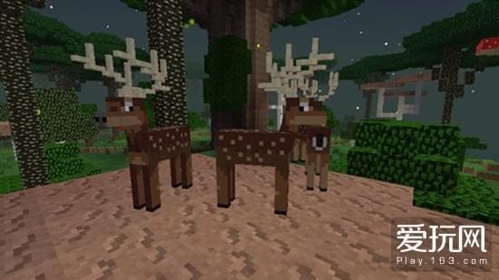 我的世界暮色森林MOD生物 野鹿介绍