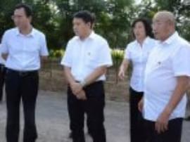 河津市委书记鞠振深入河津机关部门和乡镇基层调研