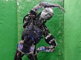 设计极为精密!日本造出重现人类肌肉骨骼的机器人