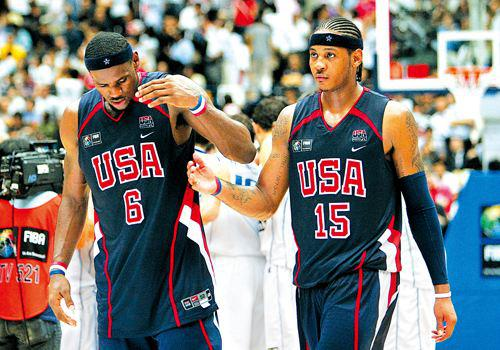 2006年世锦赛半决赛希腊打败美国。