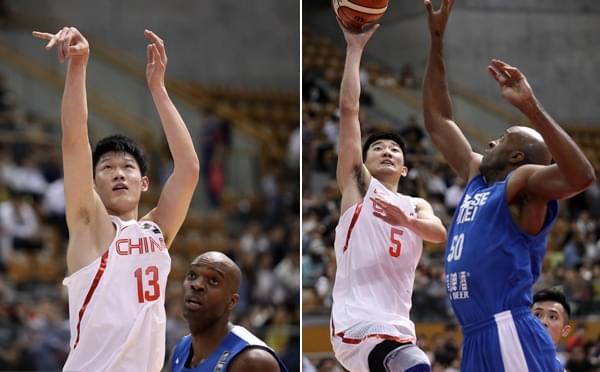 东亚赛-中国男篮96-63中国台北