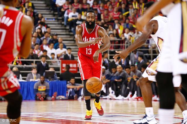 NBA-火箭主场力克勇士夺赛点?博彩公司开盘很诡异