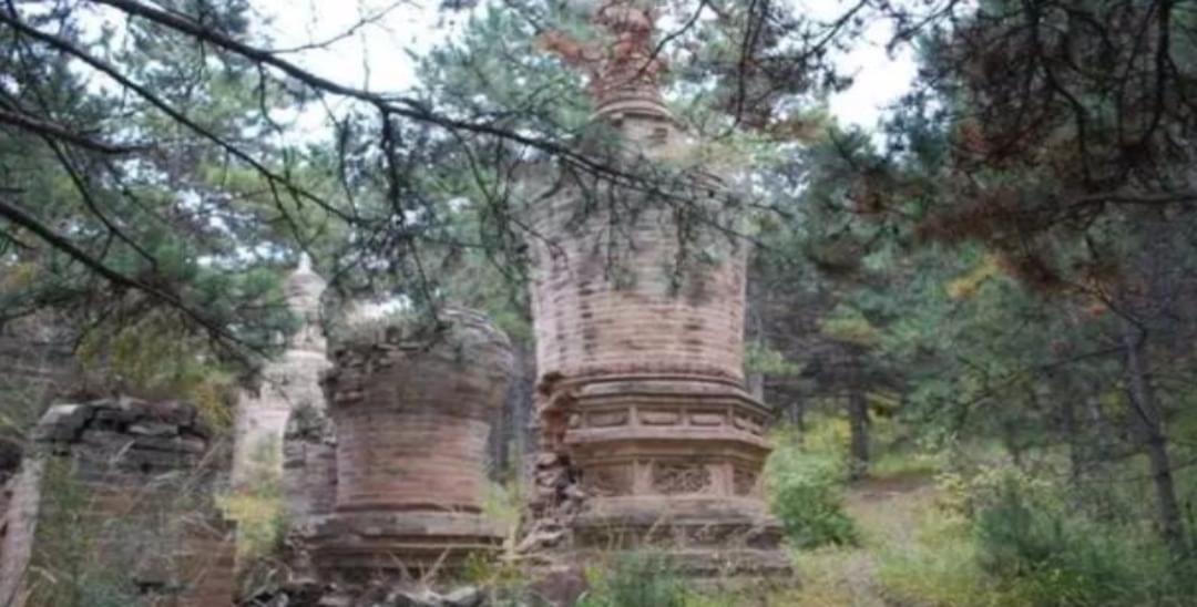 大同古塔巡礼之广灵圣佛寺墓塔群