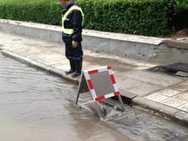运城市排水部门:井盖一旦被打开 都有专人值守