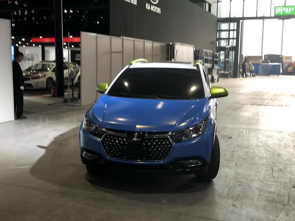 2017上海车展:纳智捷全新小型SUV