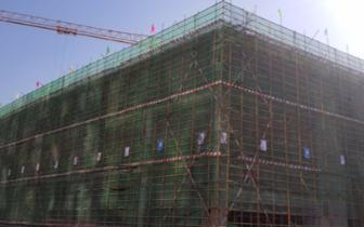 滨河体育中心新馆全民健身中心正式封顶