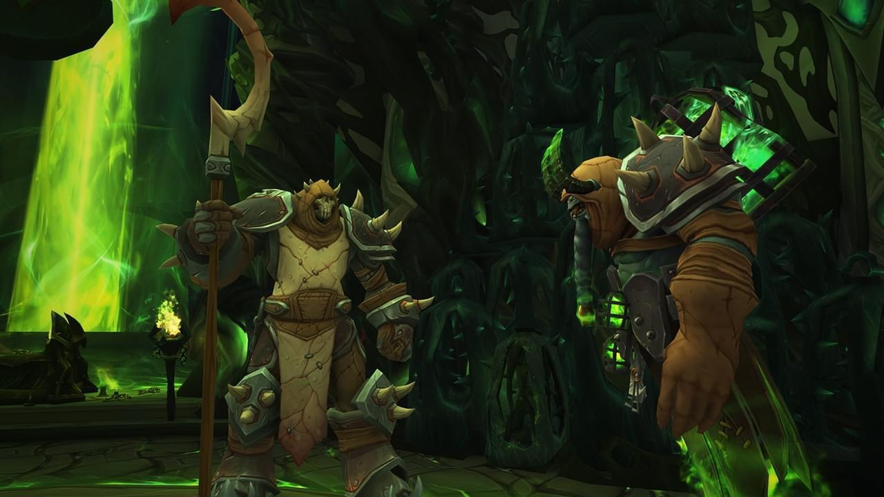 魔兽世界7.2.5萨格拉斯之墓开放 决战燃烧军团!