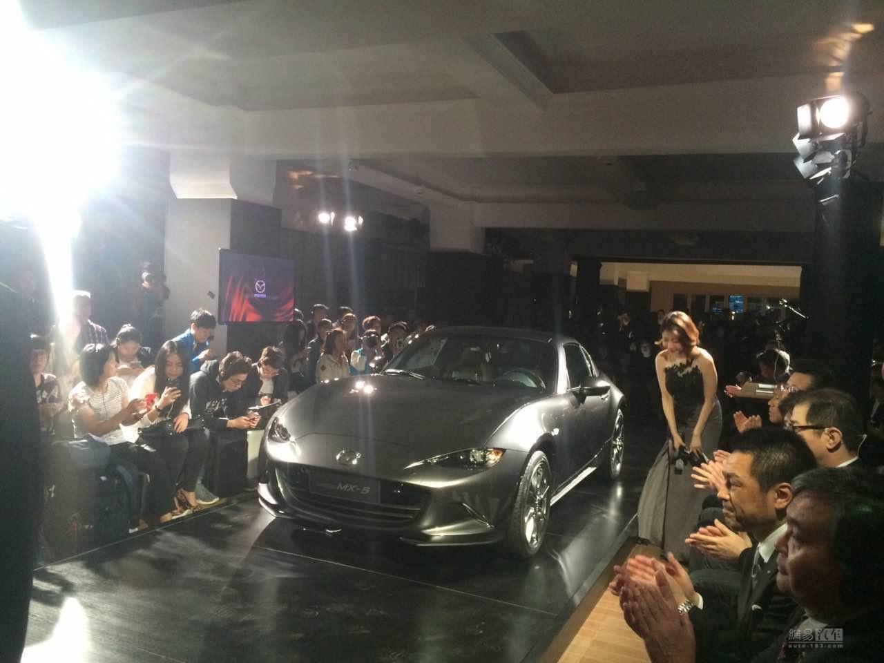 下半年就能买 马自达MX-5 RF和CX-3发布