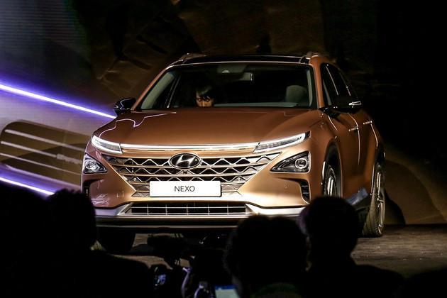 命名为Nexo 现代第二代氢燃料电池车发布