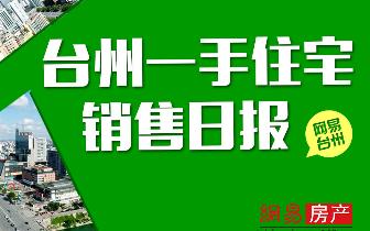 2018年3月15日台州市一手住宅成交322套