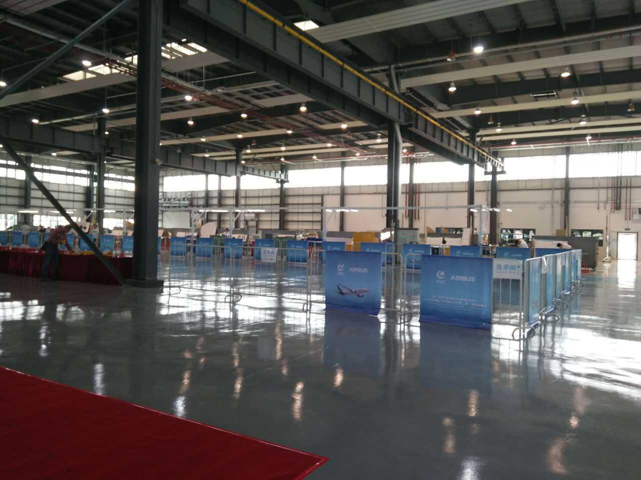 哈飞空客复合材料制造中心第1000架份A320方向舵交付