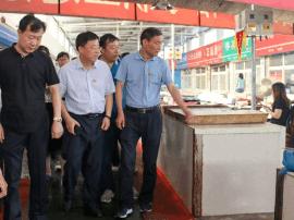 山海关区委书记赵炳强带队走遍山海关
