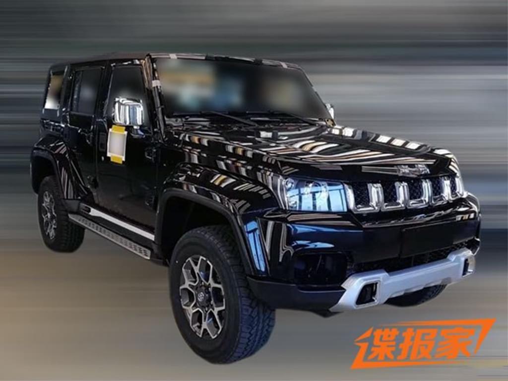 整体造型有所升级 新款北京BJ40实车曝光