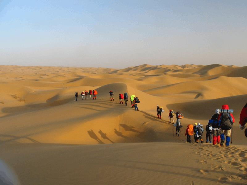 【内蒙古之最】全国穿越沙漠里程最长的公路