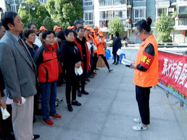 市民防局开展社区应急疏散演练评估活动