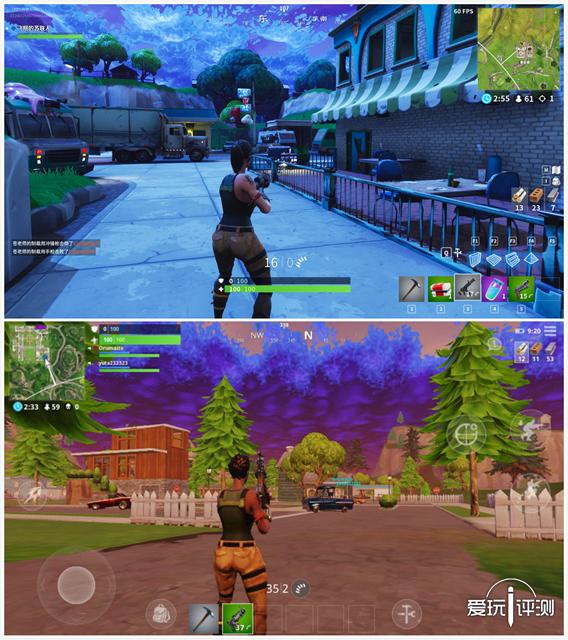 图4游戏上线前跟你说这是手机版和PC版对比你会相信么?