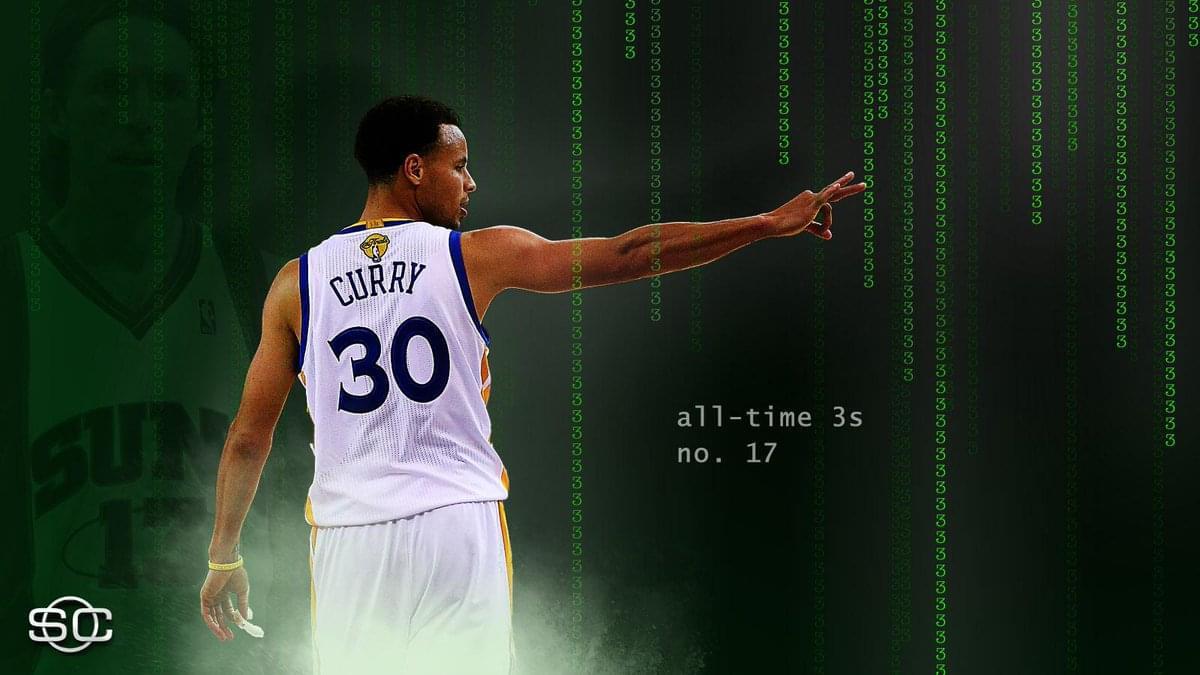 尷尬!里程碑之夜 Sephen Curry 3分命中率跌破4成 (影)