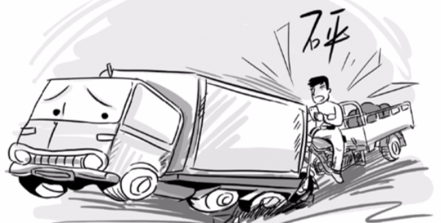 温州男子边骑摩托边自拍 生命最后一刻就此定格