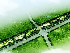 尖草坪区新村公园年底完工 占地面积3.27万平方米